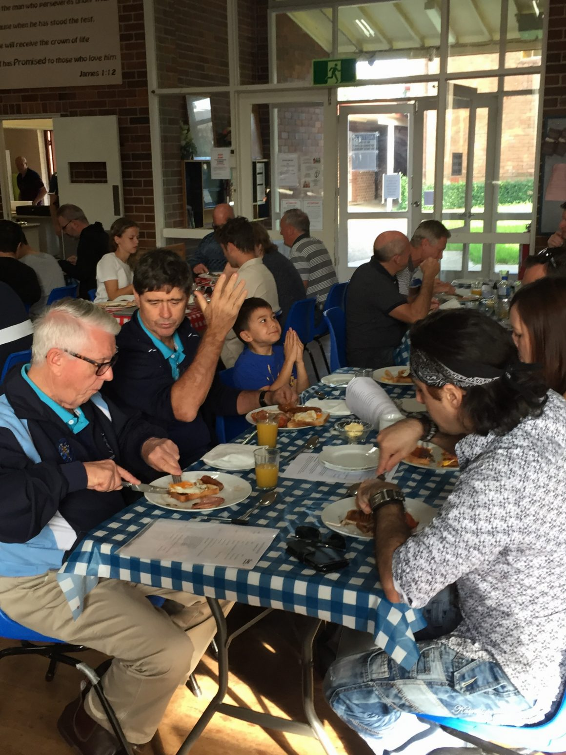 Thanksgiving Breakfast – Thank you 2017