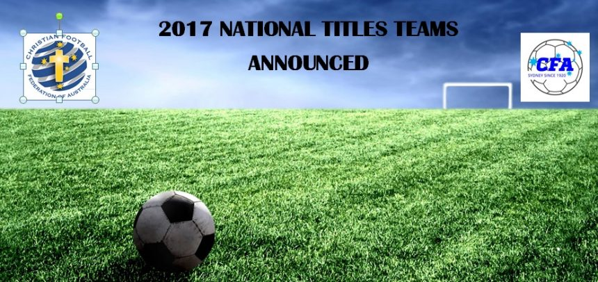 Squads announced for National Titles 2017