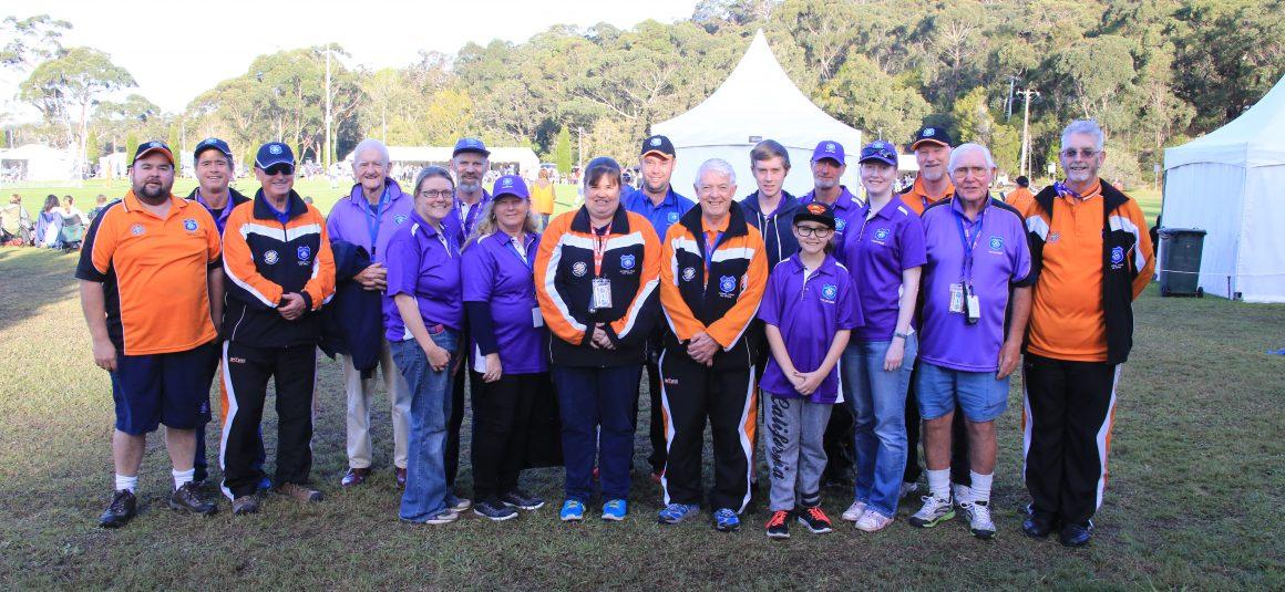 National Titles Volunteers 2017