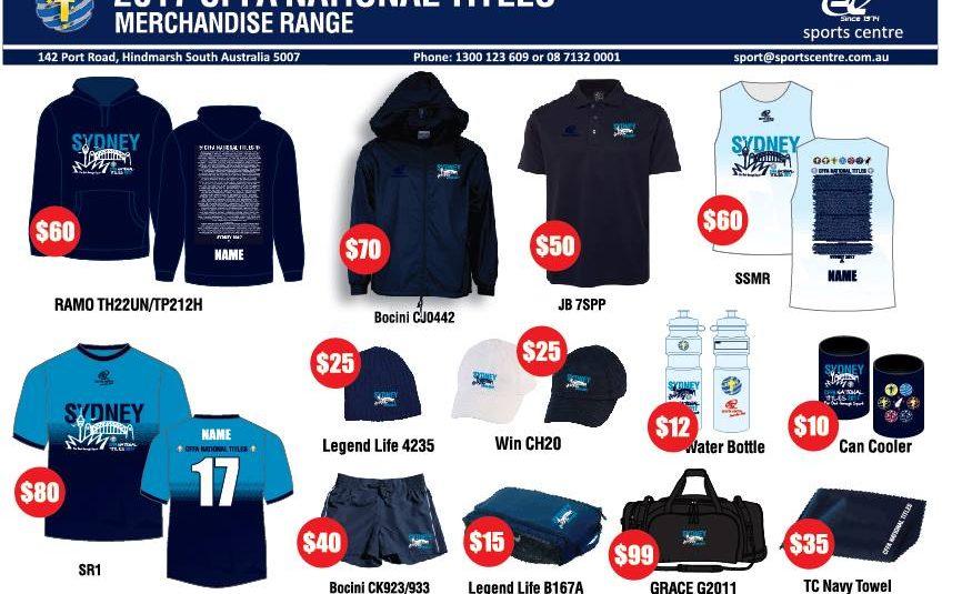 2017 CFFA Championships Merchandise