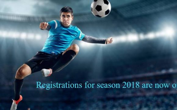 Registrations for Season 2018 are now open