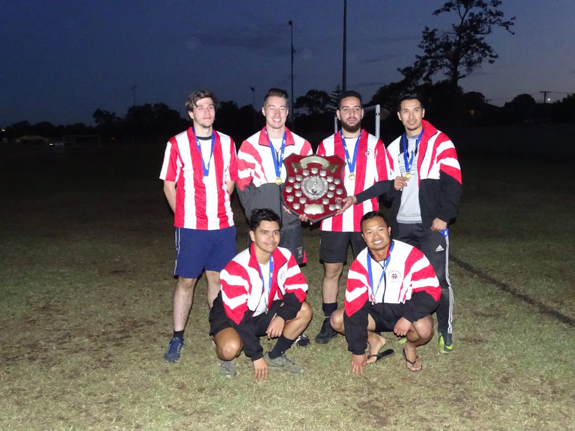 Six Aside Winners & Runners up 2018