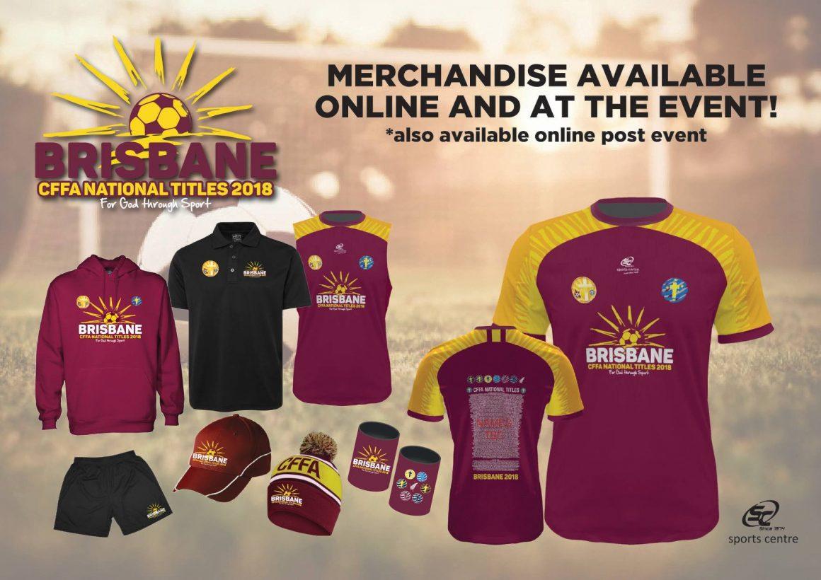 National Titles Merchandise 2018