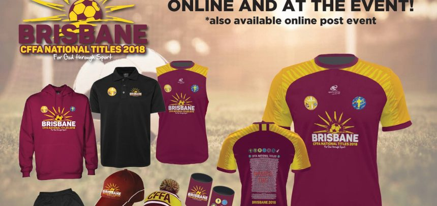National Titles Merchandise 2018