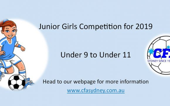 Junior Girls Competition in 2019