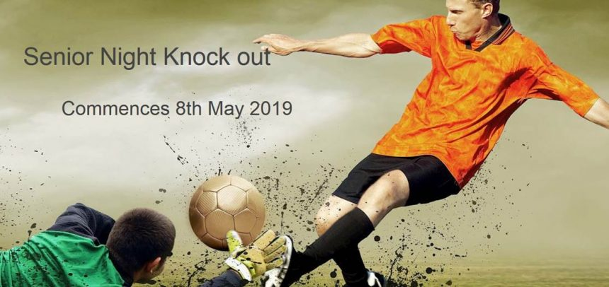 Senior Knock Out / State Cup Draw 2019