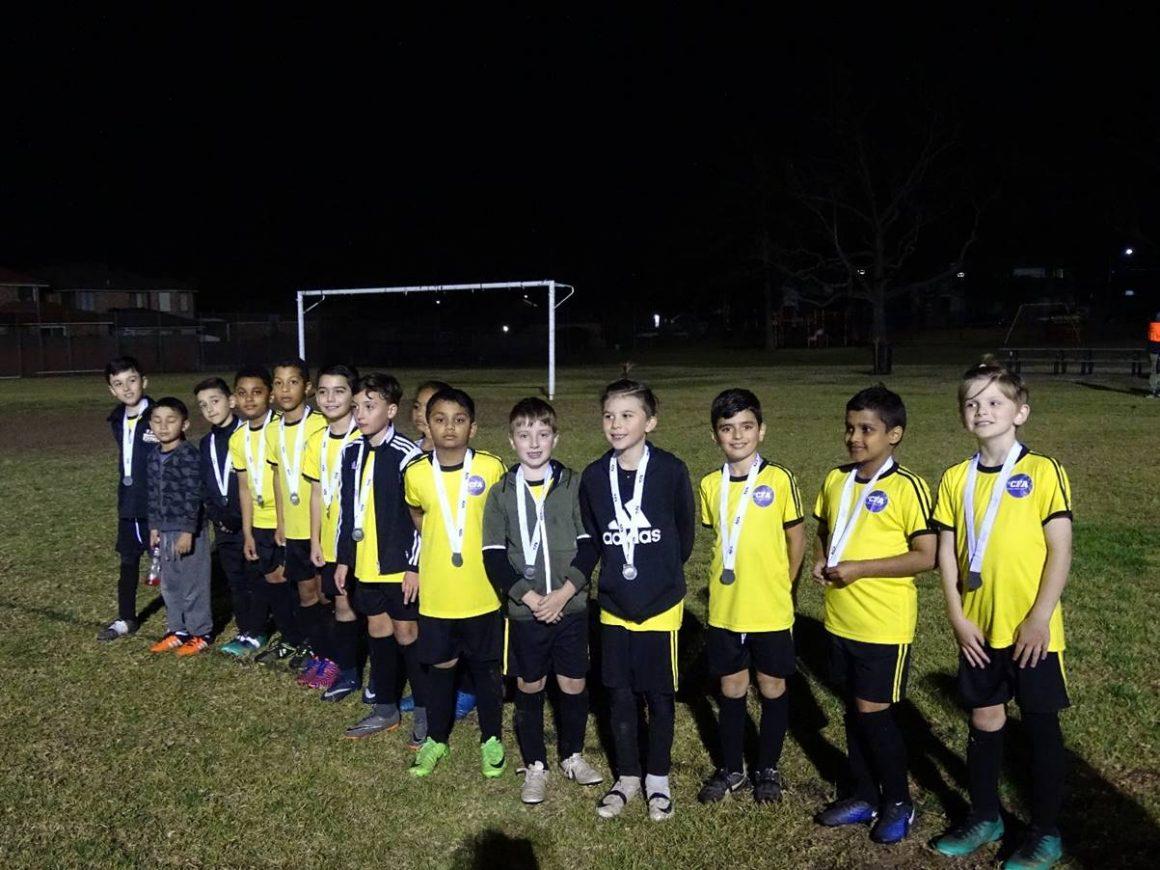Yellow Team, John Oliver Junior Representative teams 2018