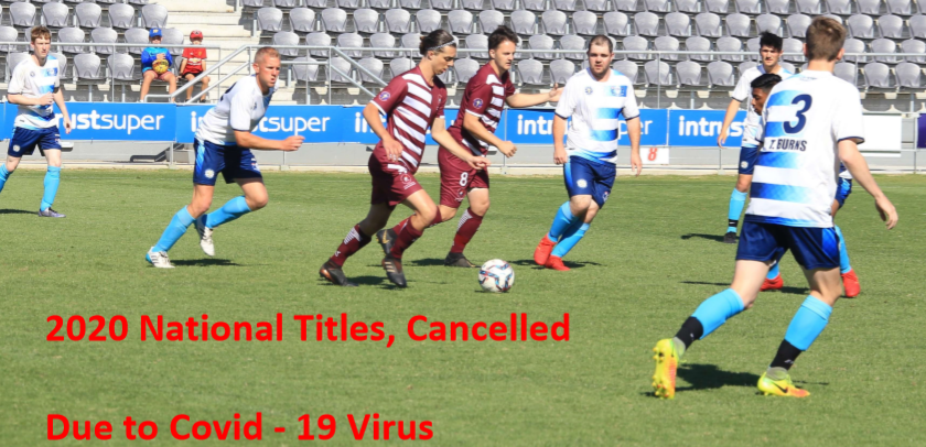 National Titles Cancelled due to Covid-19 2020