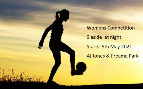 Womens Competition – 9 aside – 2021