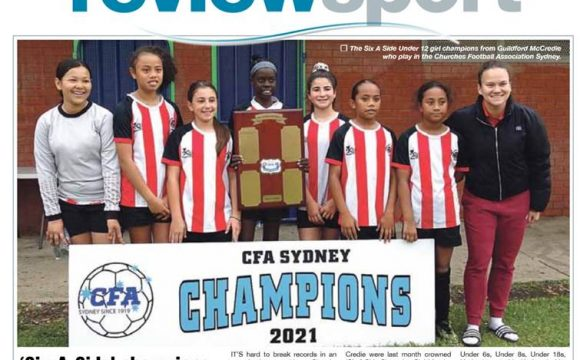 Six A Side Champions for 2021